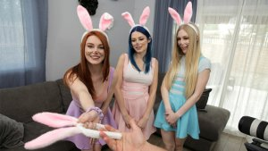My Step Cousins Sexy Bunnies: Emma Starletto, Jewelz Blu, Lacy Lennon